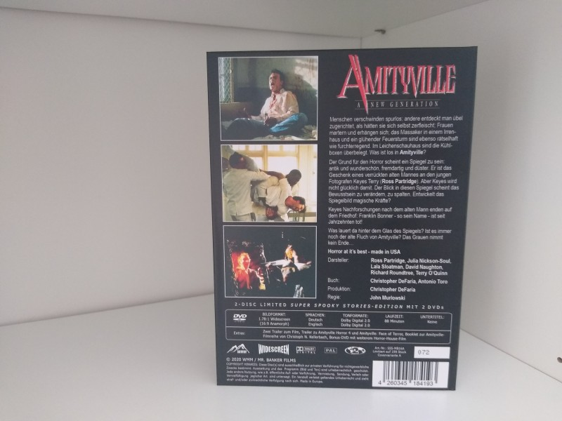 Amityville 7: A New Generation (Super Spooky Stories - WMM Mediabook)