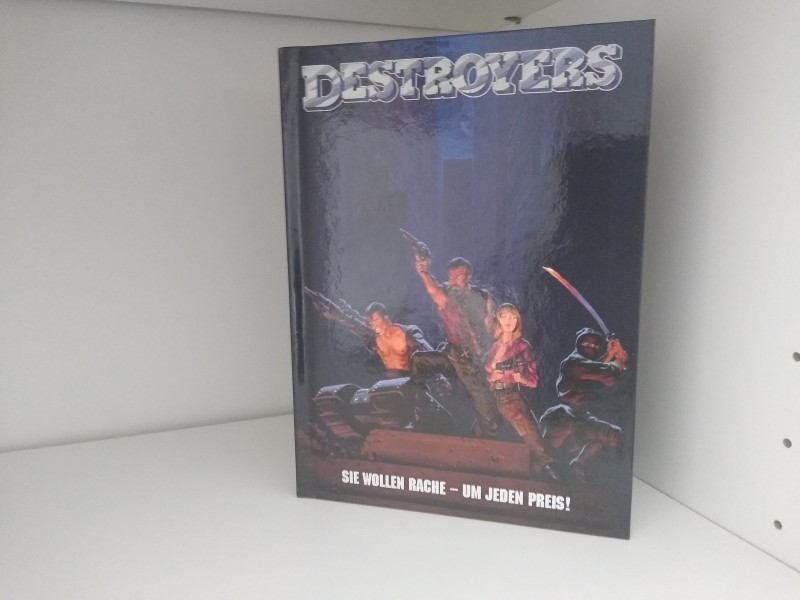 Destroyers (Wicked Vision) Mediabook (Limited Collector's Edition 36)