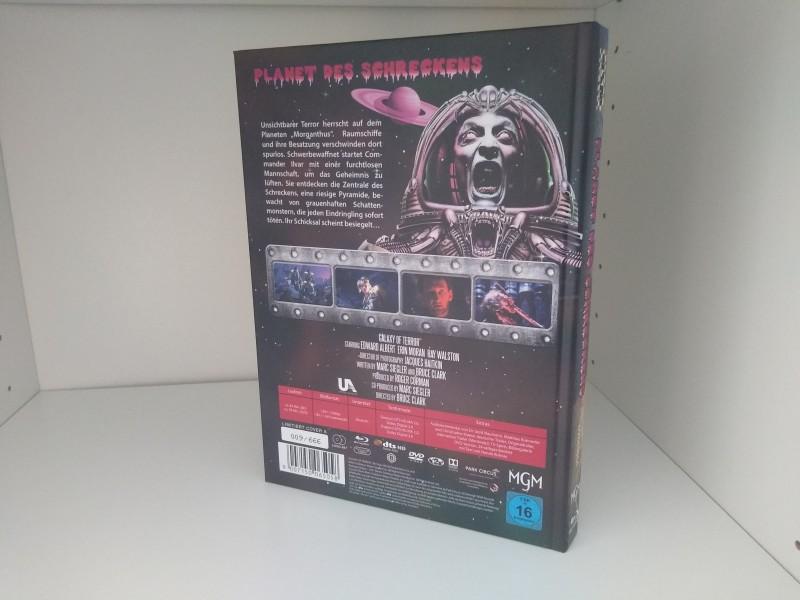 PLANET DES SCHRECKENS - Galaxy of Terror (NSM Mediabook) Sondernummer!