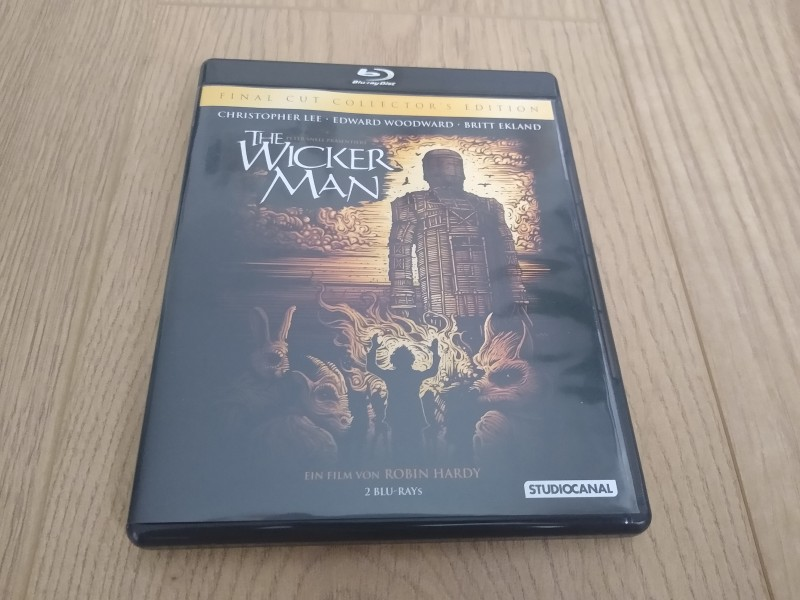 THE WICKER MAN (Final Cut Collector's Edition) (2 Blu-ray's)