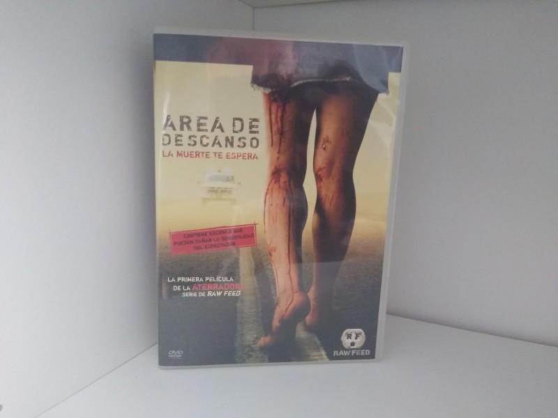 REST STOP (Area De Descanso) (DVD Import) - uncut (dt. Ton!) Warner RAW FEED-Reihe