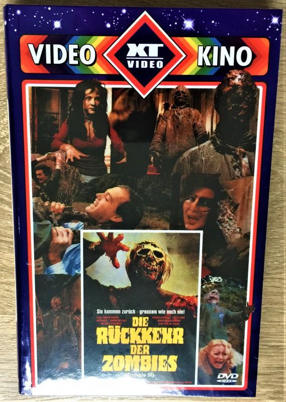Rückkehr der Zombies 100% UNCUT XT Video große RETRO HARTBOX Nr. 379 ovp SUPERRAR