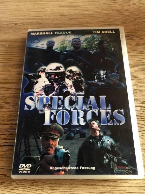 Special Forces USA Uncut DVD mit deutschen Ton Scott Adkins Rarität sehr selten OOP
