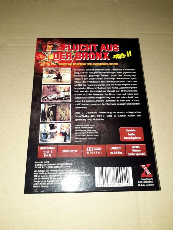 THE RIFFS II - FLUCHT AUS DER BRONX kleine Hartbox