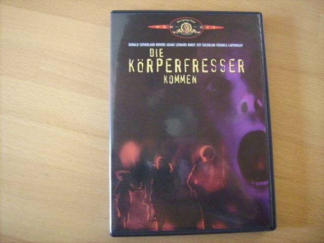 Die Körperfresser kommen - Horror - DVD von MHM