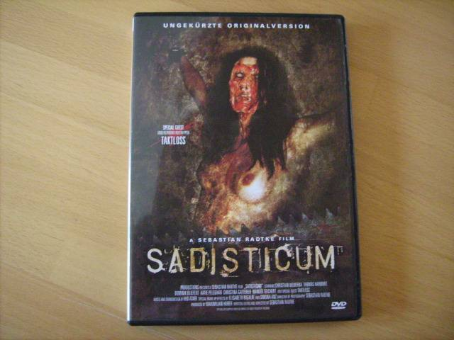 Sadisticum - Amateursplatter - DVD von Dark Dimensions