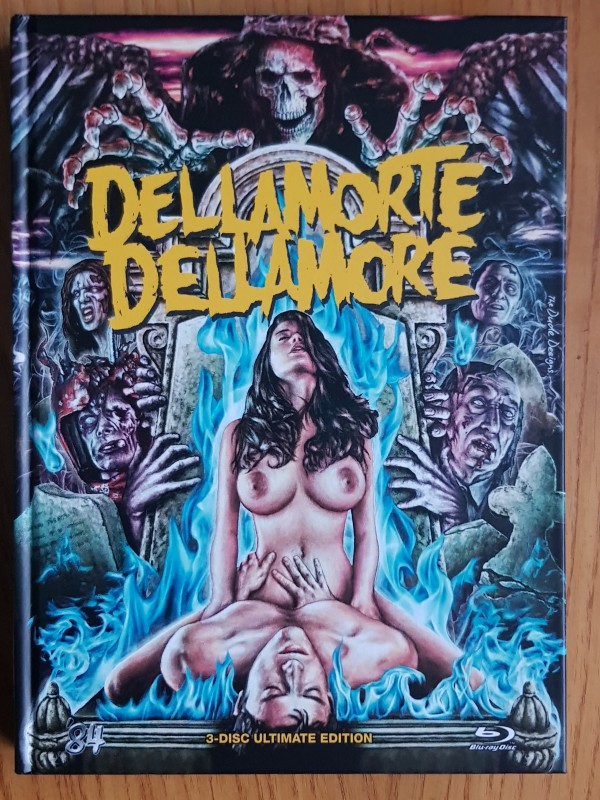 BD/DVD Dellamorte Dellamore - 84 Entertainment - Mediabook wie NEU