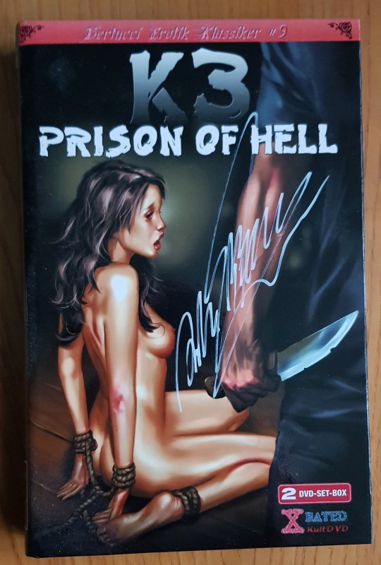 2 DVDs K3 - Prison of Hell - Unrated Fassung - große Hartbox