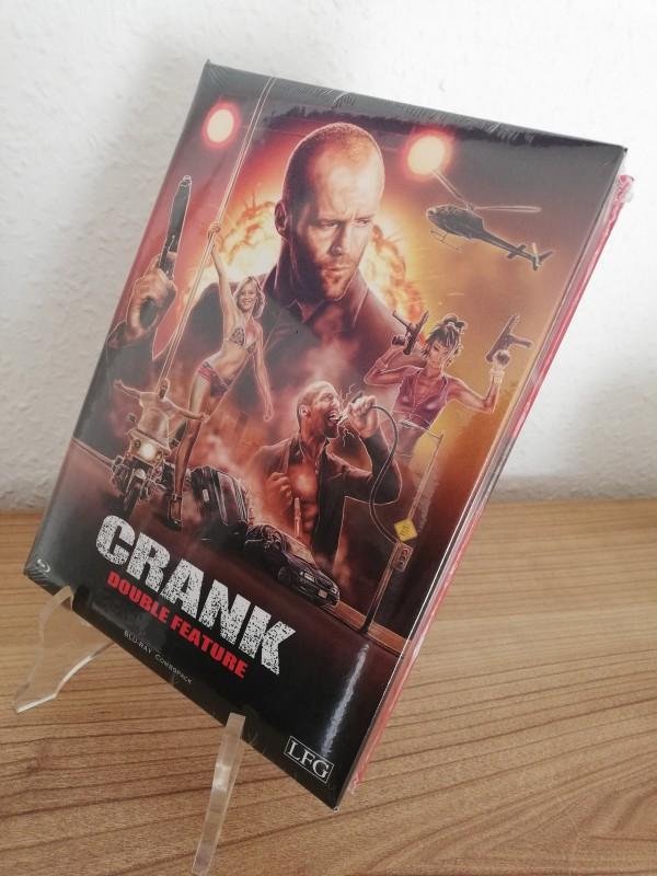 Crank Double Feature - LFG Mediabook Combopack Uncut wattiert Neu/Ovp