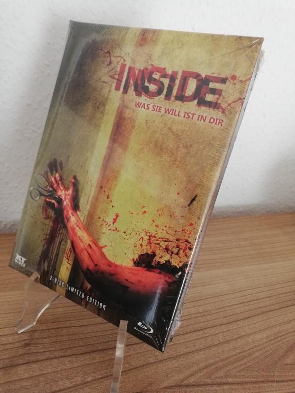 Inside - XT Mediabook 337/666 Cover A wattiert Neu/Ovp