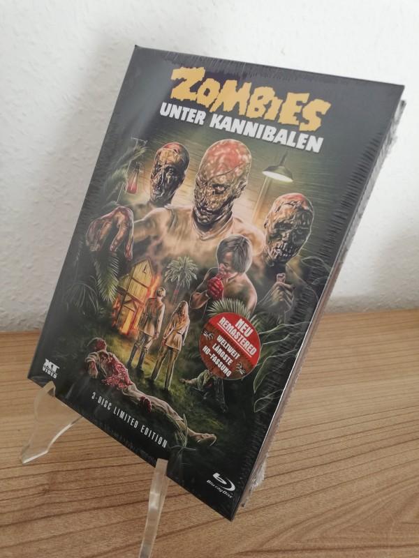 Zombies unter Kannibalen - XT Mediabook 071/666 Cover B Neu/Ovp
