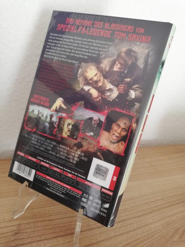 Night of the Living Dead - Nameless Blu-ray/DVD Hartbox B-Ware Neu/Ovp