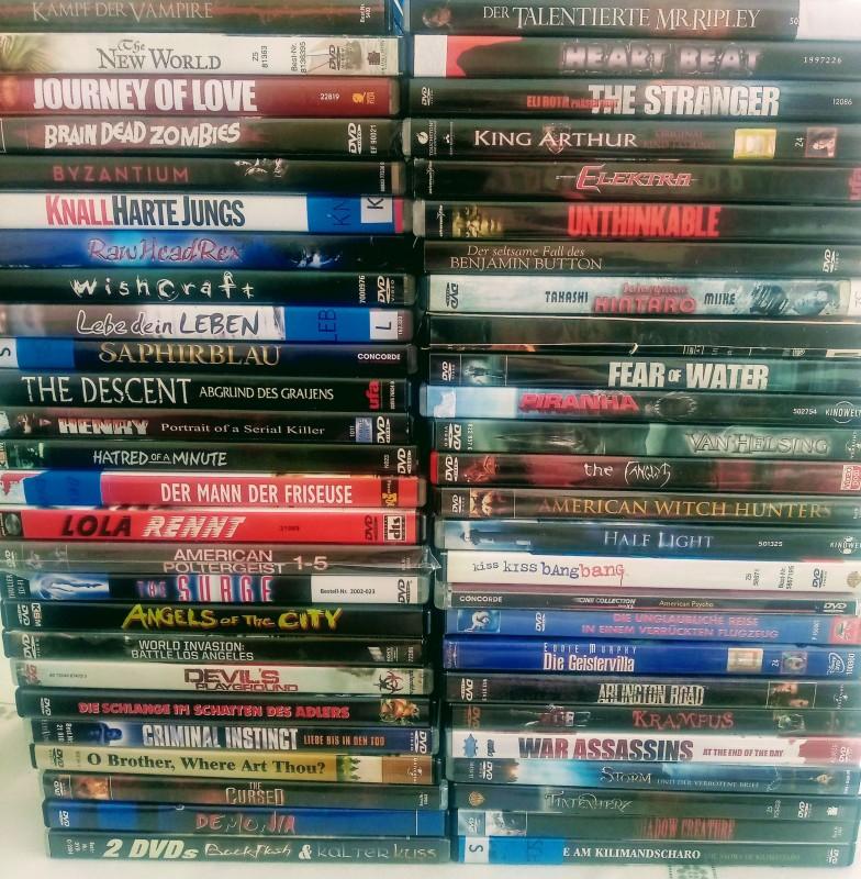 DVD Sammlung - über 50 Titel