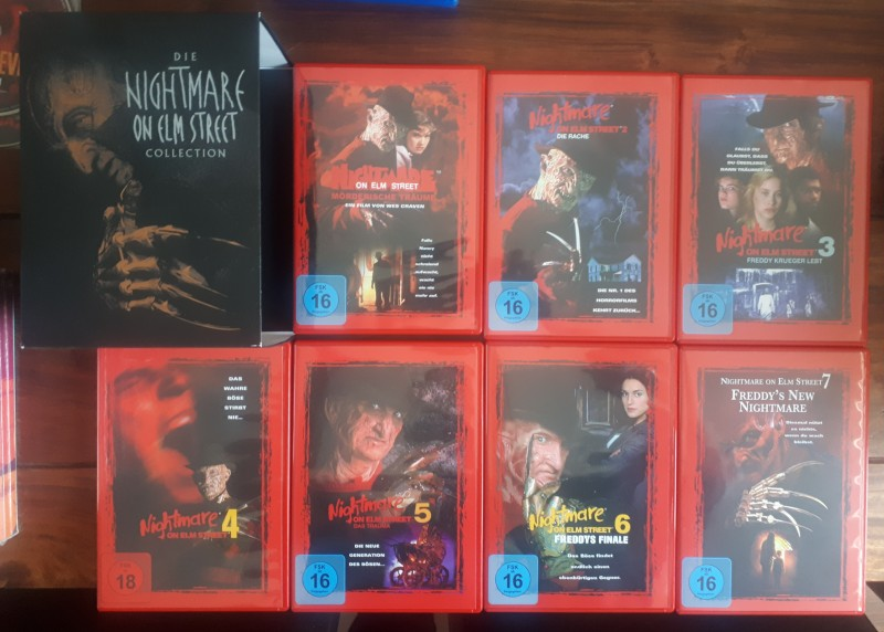 A Nightmare on Elm Street 1-7 Collection (Neuauflage)