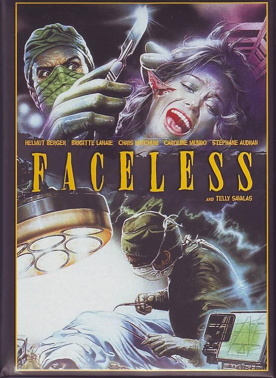 Jess Franco:Faceless-Wattiertes Mediabook Cover A (Blu Ray + DVD) Brigitte Lahaie