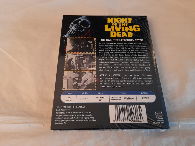 Night of the Living Dead - Xt Kleine Hartbox - Bluray Edition