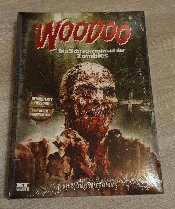 Woodoo Schreckensinsel der Zombies - Wattiertes Mediabook  Cover A lim. 666 - Neu OVP
