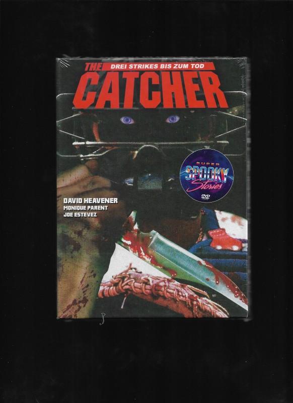 The Catcher Drei Strikes bis zum Tod Mediabook Super Spooky Stories Limited 66 Cover D