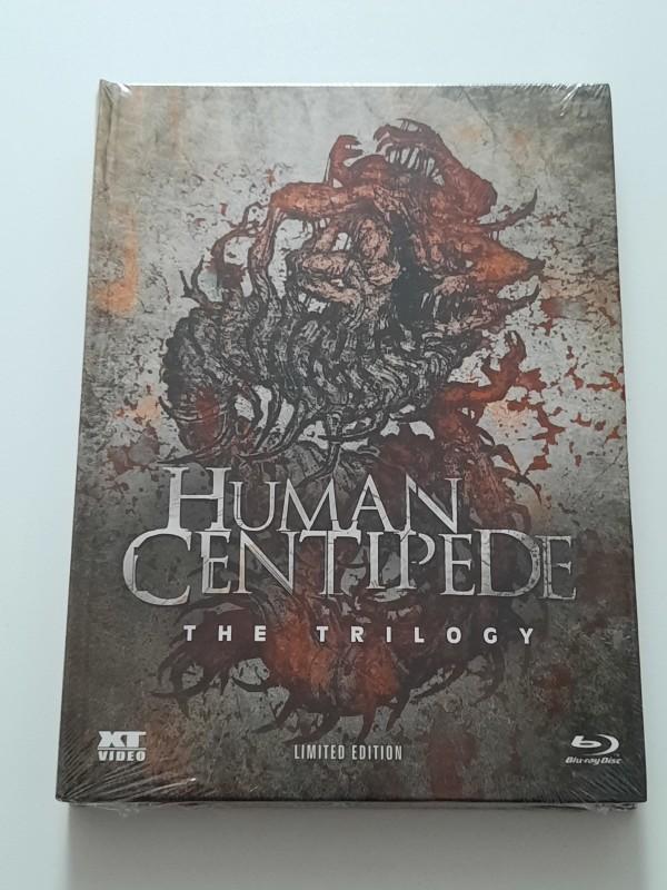 THE HUMAN CENTIPEDE TRILOGY Blu-ray Mediabook limitiert 666 OVP
