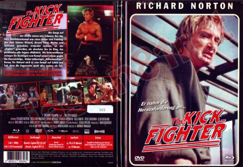 The Kick Fighter / Lim. MB 66 Cover D / Blu + DVD NEU OVP uncut
