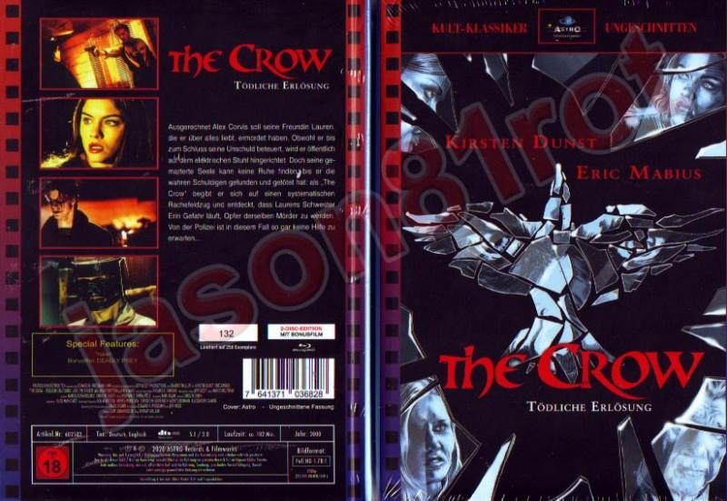 The Crow 3 III - Tödliche Erlösung / Lim. MB 250 Astro-Cover / Blu Ray NEU OVP uncut