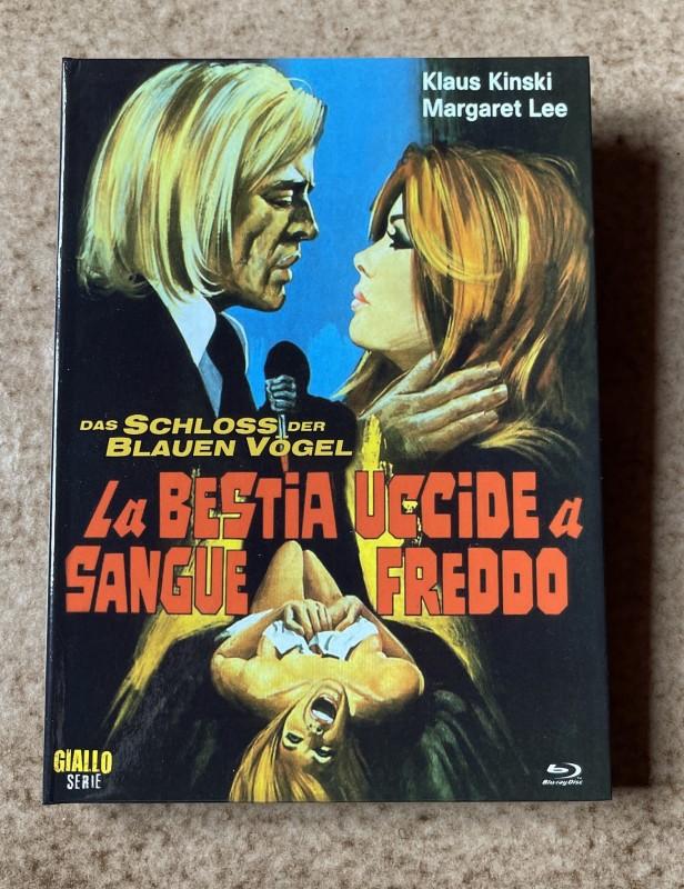 Blu-ray * SCHLOSS DER BLAUEN VÖGEL (1971) * Klaus Kinski * Mediabook