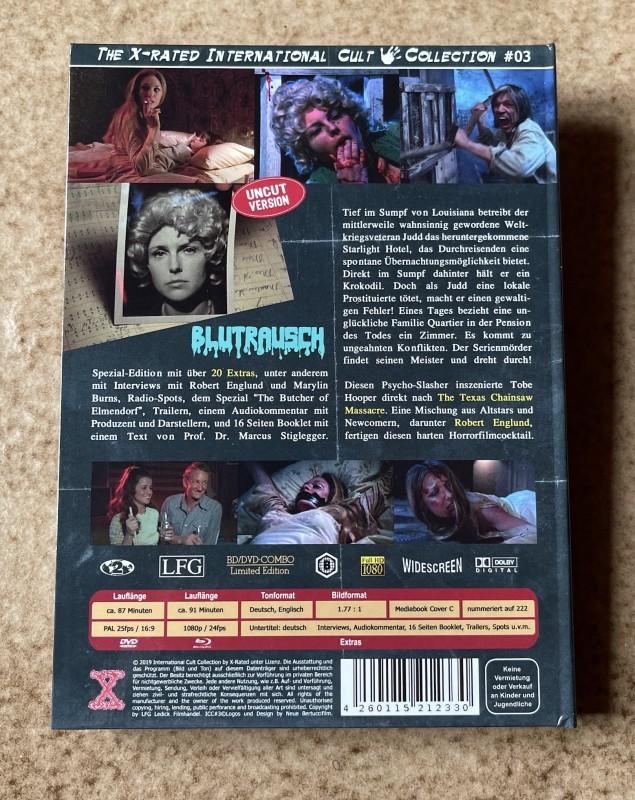Blu-ray * BLUTRAUSCH - Eaten Alive (1977) * Tobe Hooper * Mediabook