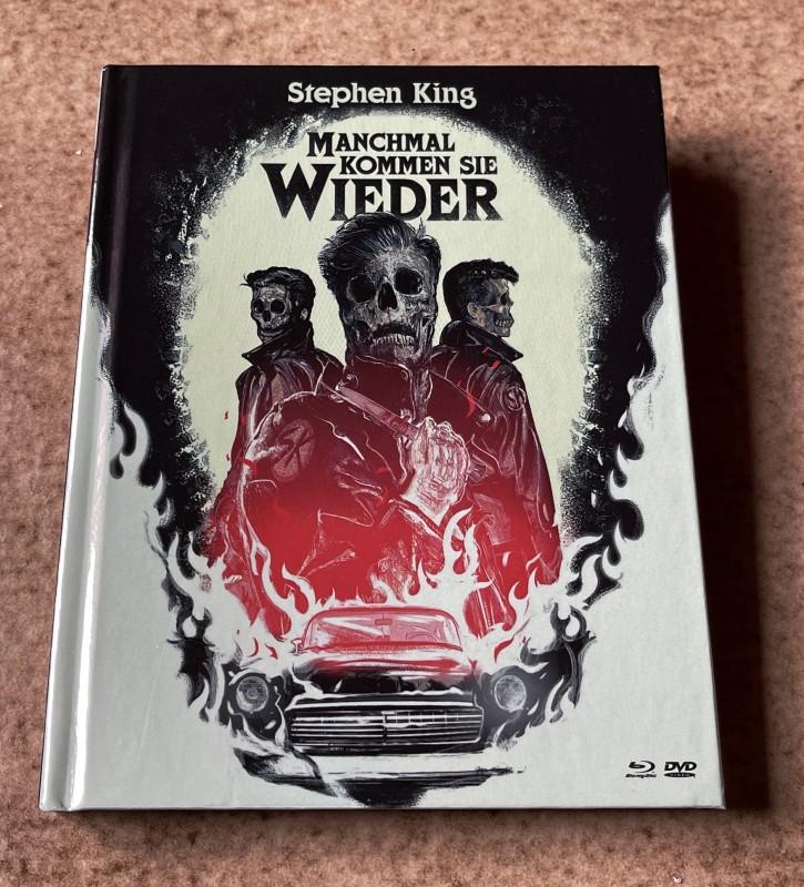 Blu-ray * MANCHMAL KOMMEN SIE WIEDER (1991) * Stephen King * Mediabook