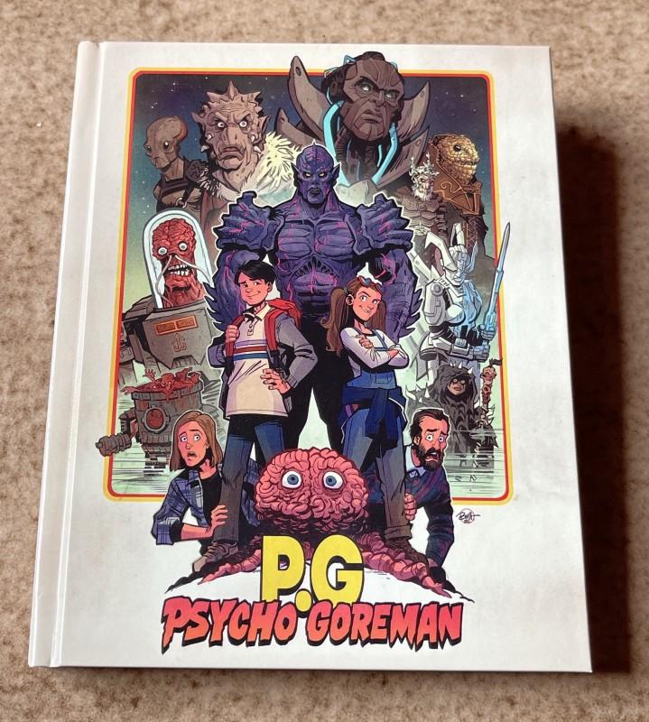Blu-ray * PSYCHO GOREMAN (1991) * Mediabook