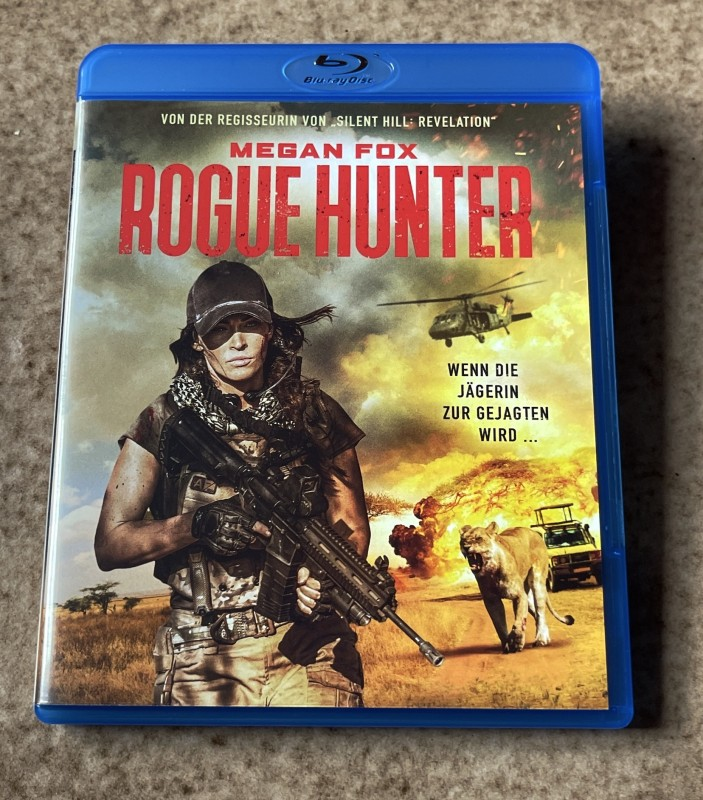 Blu-ray * ROGUE HUNTER (2020) * Megan Fox