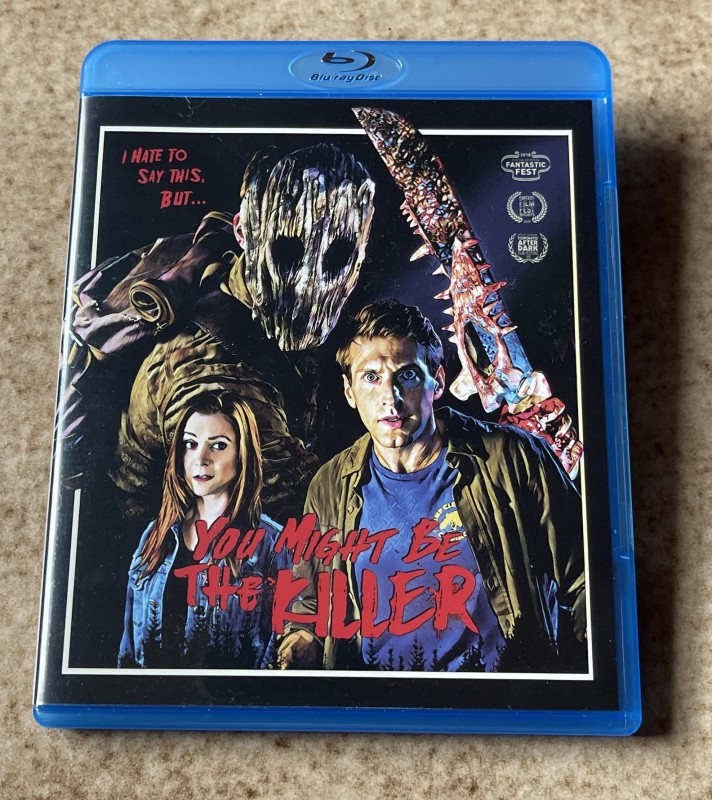 Blu-ray * YOU MIGHT BE THE KILLER (2018)