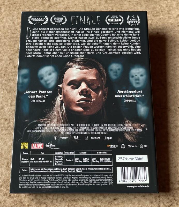 Blu-ray * FINALE (2018) * Mediabook