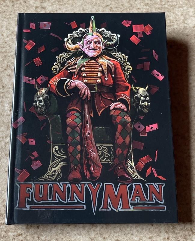 Blu-ray * FUNNY MAN (1994) * Mediabook