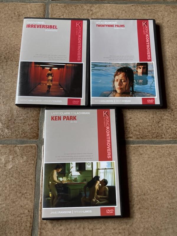 DVD * Kino Kontrovers * Legend * 3 Filme