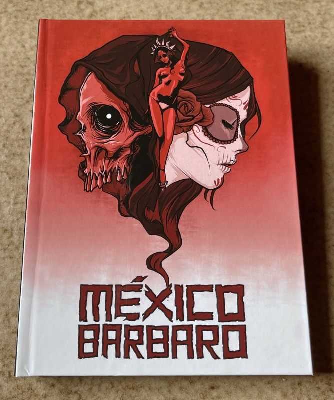 Blu-ray * MEXICO BARBARO (2014) * Mediabook