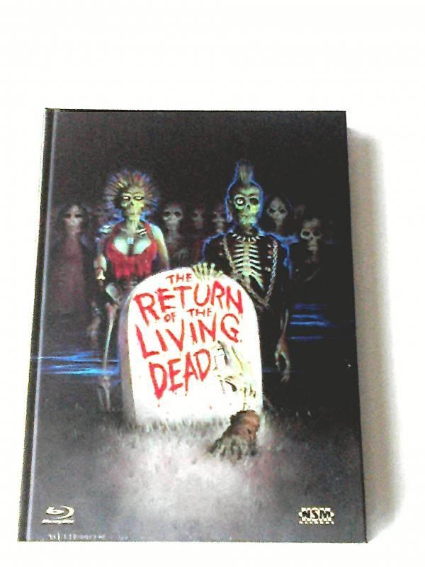 RETURN OF THE LIVING DEAD(ULTIMATE EDITION)LIM.3DISC MEDIABOOK UNCUT