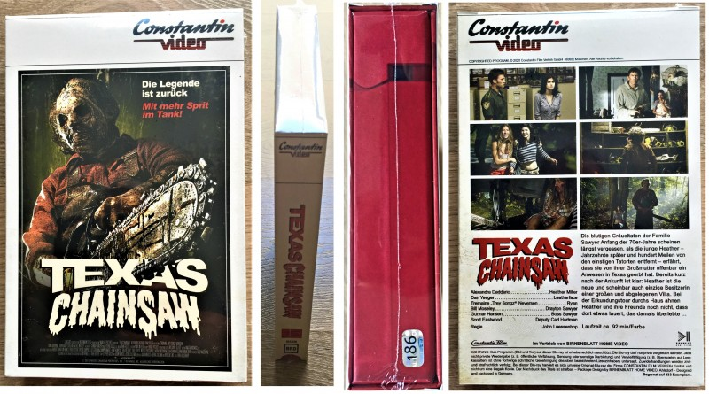 TCM Birnenblatt VHS-Retro Edition (Unrated) Blue Ray und Poster, Tape Dummy Nr.186 von 333 ovp  VERSICHERTER VERSAND ovp