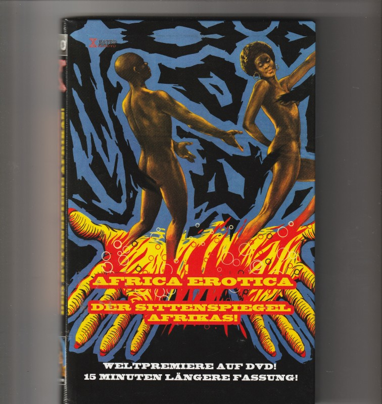 DVD Gr. Buchbox - Africa Erotica - X 2 - 10