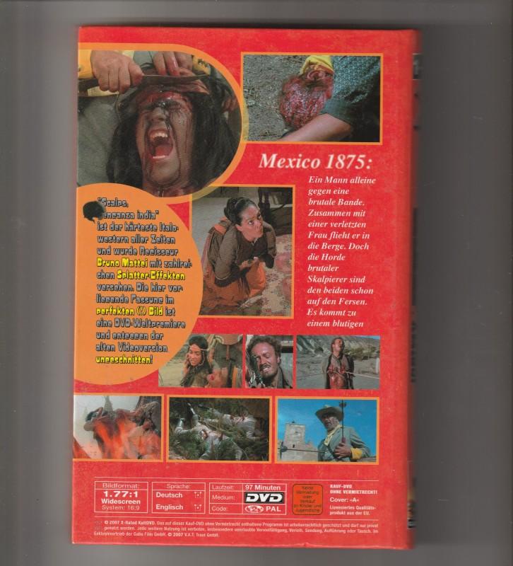 DVD Gr. Buchbox - Es geht um deinen Skalp Amigo - X 1 - 78
