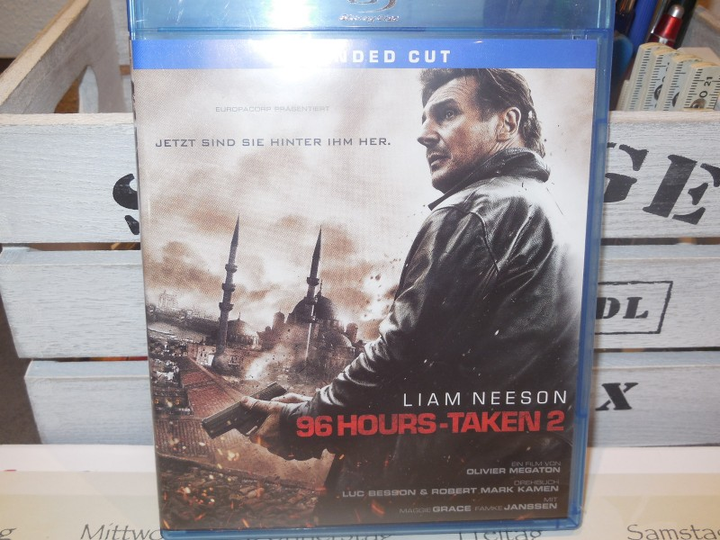 96 Hours-Taken 2 mit Liam Neeson Extended Cut