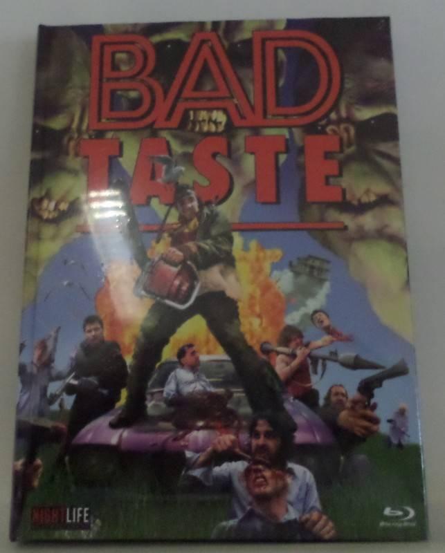 Mediabook-Peter Jackson's Bad Taste- #Lim.Ed.111-BD-A