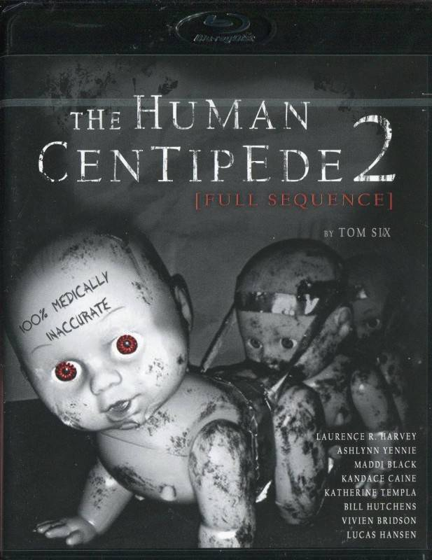 Human Centipede 2 -Full Sequence- Blu-Ray (x)