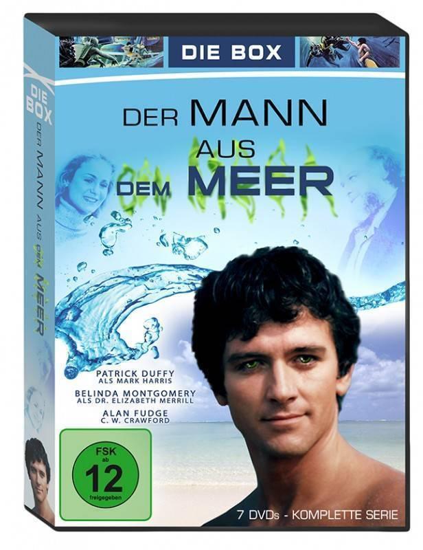 Der Mann aus dem Meer - die BOX - kompl. Serie! (x)