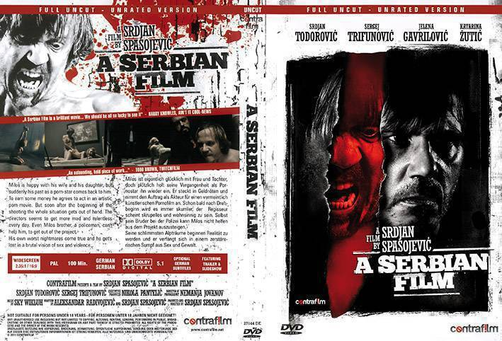 DVD: A Serbian Film (DVD) - Full Uncut Version (x)