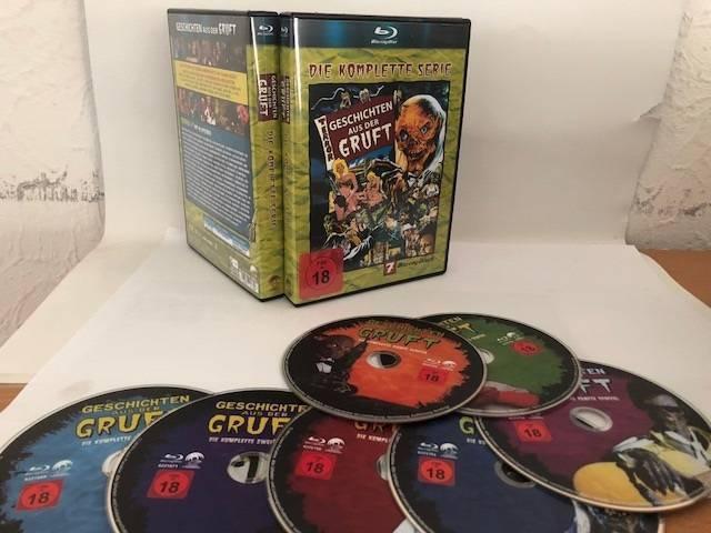 7 Blu Ray Box Geschichten aus der Gruft (93 Folgen)
