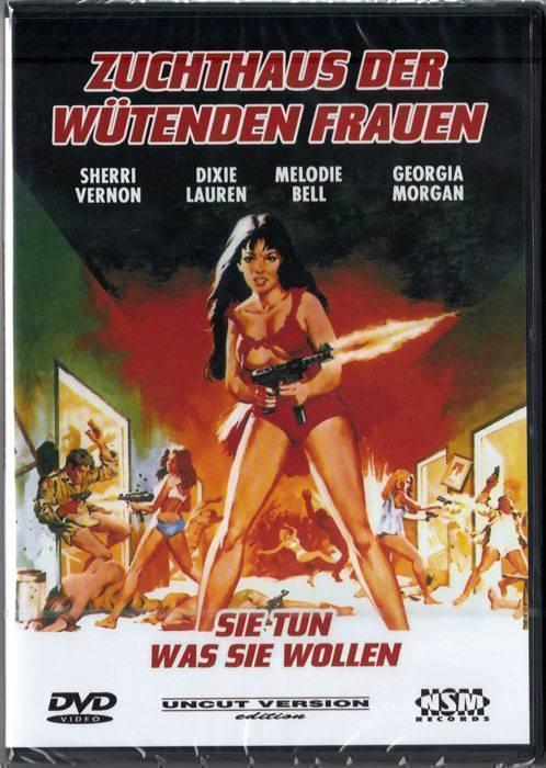 DVD Zuchthaus der wütenden Frauen uncut !!  DVD