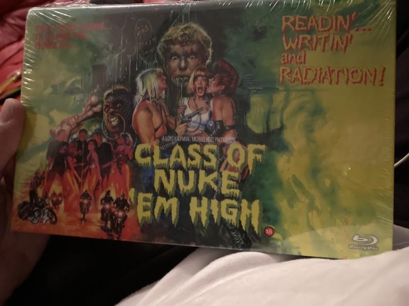Class of Nuke Em High  '84 Große BB limitiert 99