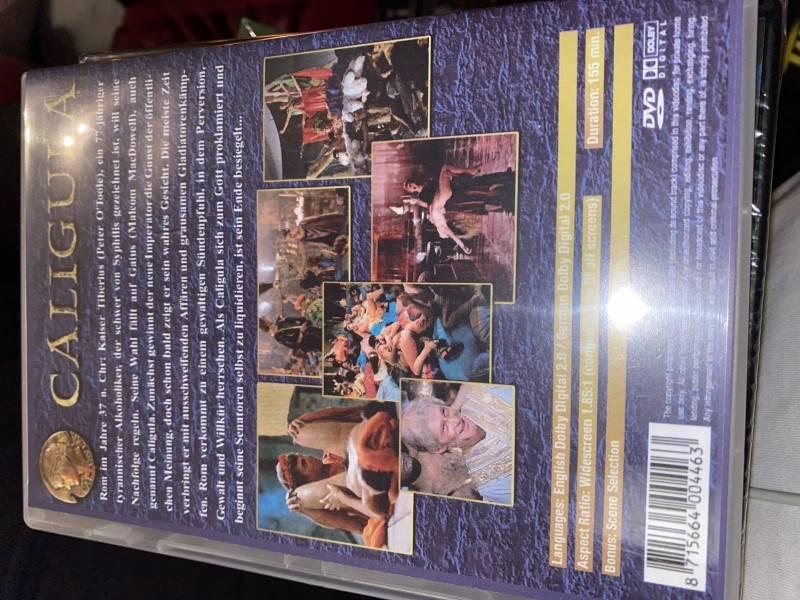 Caligula Uncut Dvd