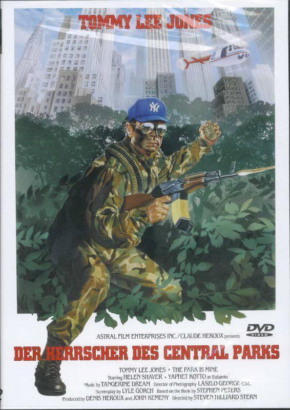 10 X Der Herrscher des Central Parks - Tommy Lee Jones  DVD (x)
