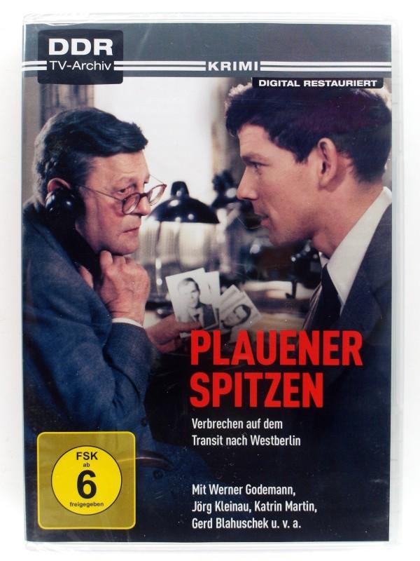 Plauener Spitzen - Verbrechen auf dem Transit nach Westberlin - DDR TV- Archiv - Digital restauriert - Werner Godemann